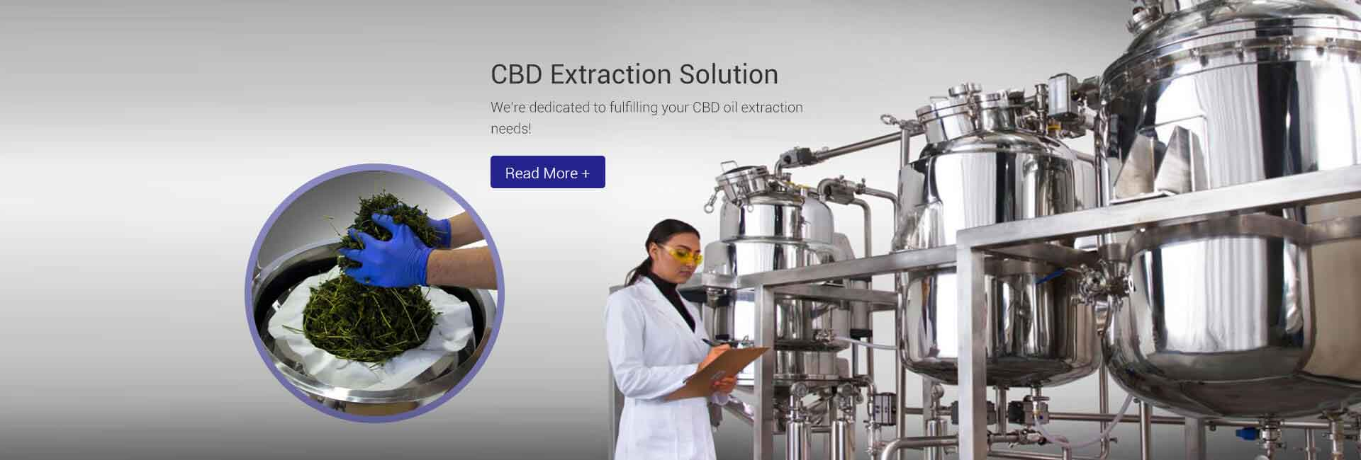 CBD Extraction Solution