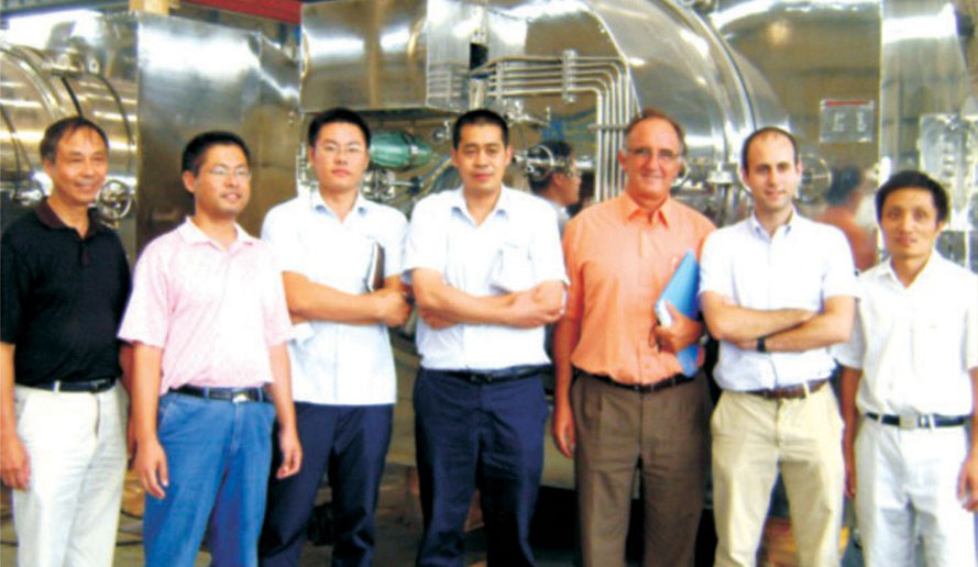 In 2014, established welding research center with Harbin welding institute.<br> Brought in the complete FIMA aseptic centrifugal drying technology from Germany.<br> Established Jiangsu Zhongyi Energy Efficiency Co., Ltd., with Shanghai Jiao Tong University, which is specialized in MVR projects.<br> Established Nanjing Kingreat Machinery Co., Ltd.<br> Built enterprise working center with Southwest Jiaotong University.<br>