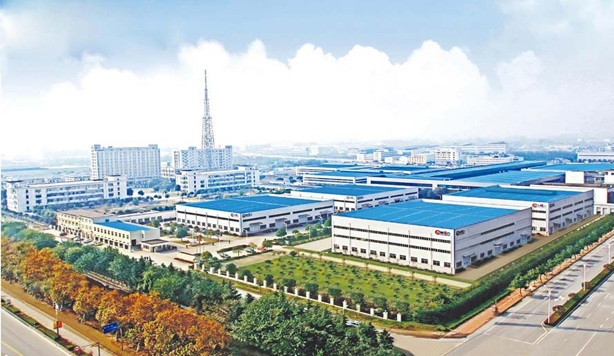 In 2017, acquired 200000m2 land in Huang Qiao Industrial Park in Taixing Jiangsu, to build Industrial Base.