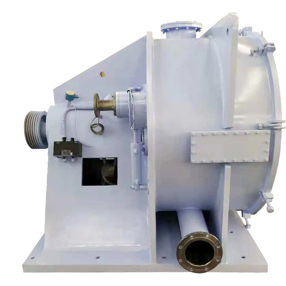 GKH Automatic Horizontal Scraper Siphon Centrifuge Peeler for Starch