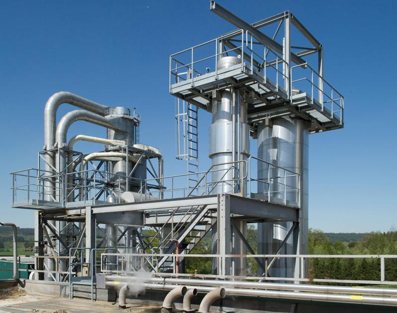 Waste Heat Evaporation System
